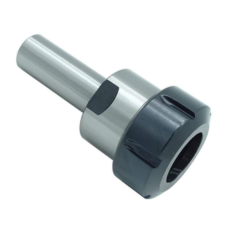 """ER40 1""""  Collet Chuck Tool Holder With Straight Shank 2-9/16"""" Proj."""