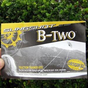 Slingshot B2 Kiteboarding/kitesurfing trainer kites - brand new