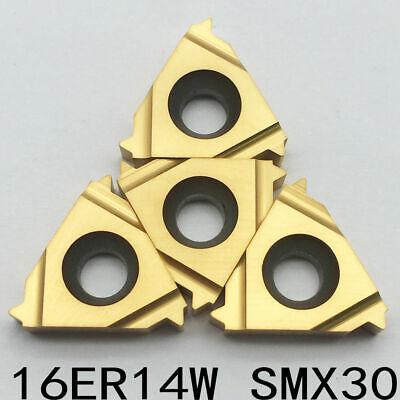 10pcs 16er 14w Smx30 Threading Milling Carbide Cutting Lathe Tool Ser Holder