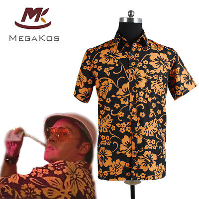 Fear and Loathing in Las Vegas Raoul Duke Hemd T-shirt Top Cosplay Kostüm Party