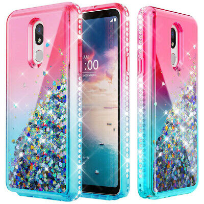 Bling Glitter Armor Case For Samsung Galaxy J7 2018 / Crown / Star /Refine Cover