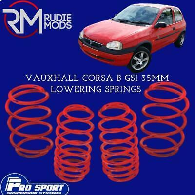 Vauxhall Corsa D Diesel Lowering Springs Kit Apex 40mm