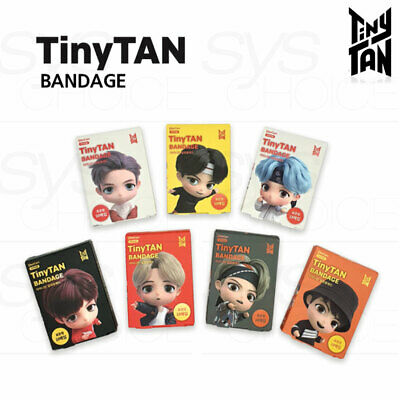 BTS TinyTAN Official Authentic Goods Bandage 10p x 7SET + Tracking Number