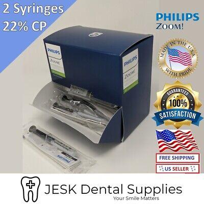 Philips ZOOM 22% Nite White Teeth Whitening Gel- 2 Syringes Individually
