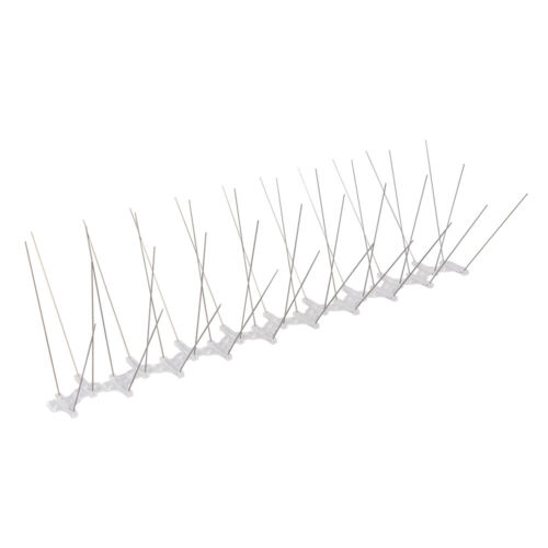 10x 50cm x 15cm CUT 2 SIZE Metal Anti Bird/Seagull Spikes-Window Ledge Roof Wall