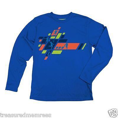 Tek Gear Long Sleeve Sports Graphic Shirt ~ Size Large (14-16) ~ NWT