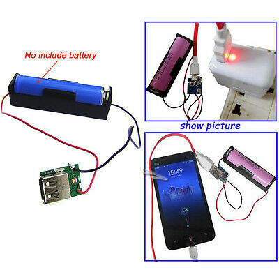 3.7V-5V 1A Mini 18650 Lithium Battery Charging Board USB Charger Module DIY s584