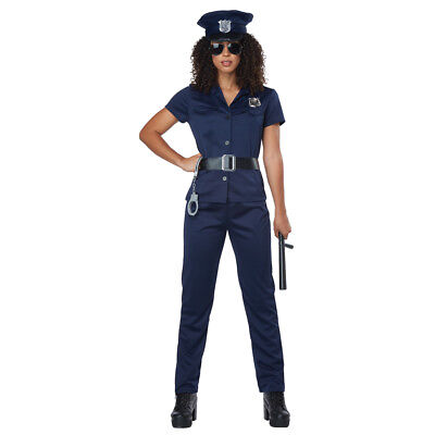 Womens Police Officer Halloween Costume