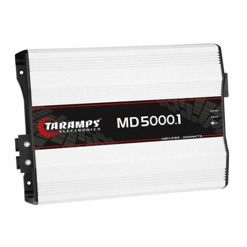 AUTHENTIC Taramps MD 5000 1 Ohm Amplifier MD5000 HD5000 5K Watts 5000.1 Amp FAST