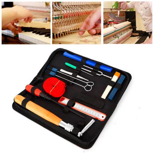 14* Klavier Stimmschlüssel Stimmen Tuning-Werkzeug Set Stimmhammer Zubehör DHL
