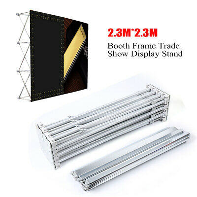 Professional Portable Pop-up Booth Frame Trade Show Display Stand For Hotels