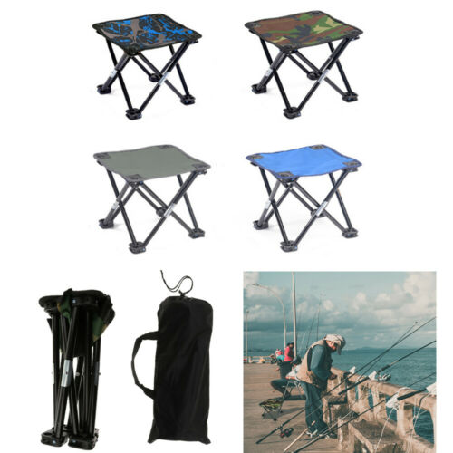 Portable Foldable Chair Camping Traveling Outdoor Picnic Hiking BBQ Garden Stool