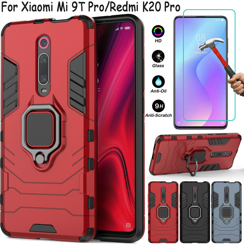 For Xiaomi Mi 9T Redmi K20 Pro Shockproof Stand Ring Holder