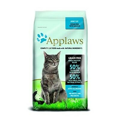 Applaws Complete Natural Dry Cat Food 350g Adult Ocean Fish With Salmon