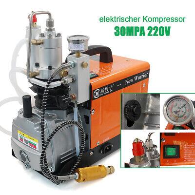 1600w High Pressure Electric Pcp Air Compressor 220v 30mpa 4500psi Pump 2-stage