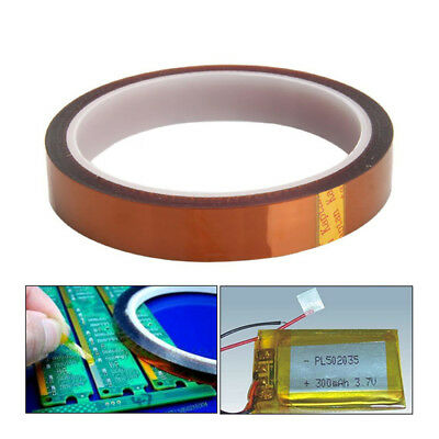 2 Rolls Usa Heat Resistance Tape Us 10mm Polyimide 10mm Gold Sublimation Wire