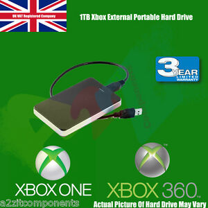 1TB External USB3.0 Portable Hard Drive for Xbox One/ XBOBX360