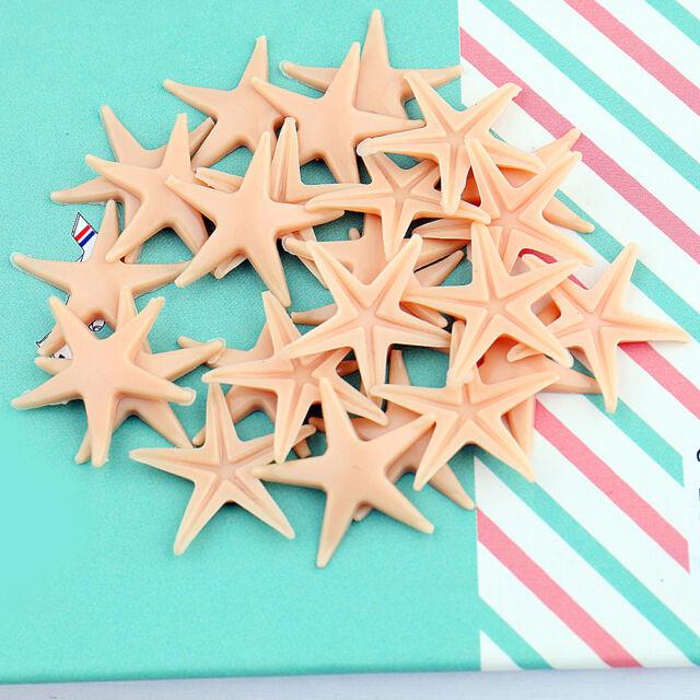 50pcs starfish sea crafts fish tank bracelet decorations