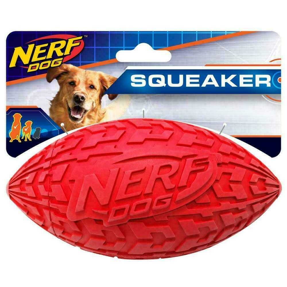 tire squeak football red large