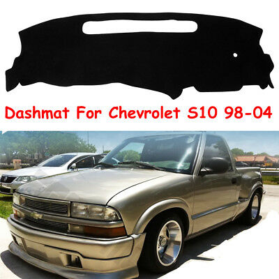 DashMat Car Dash Board Cover Dashboard Mat Fit For 1998-2004 Chevrolet S10 Black
