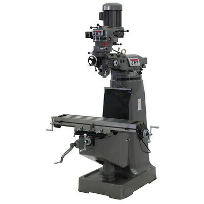 Jet Jtm-1 Stephead Milling Machine 3ph 690082 Free Shipping