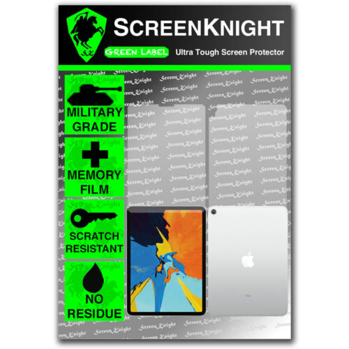 "ScreenKnight Apple iPad Pro 11"" (3rd Gen - 2018) FULL BODY SCREEN PROTECTOR"