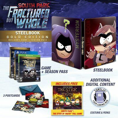South Park  The Fractured But Whole Steelbook Gold Edition  Playstation 4  Ps4