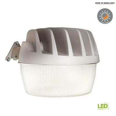 All-Pro Gray Outdoor Integrated LED Area Dusk to Dawn Security Light