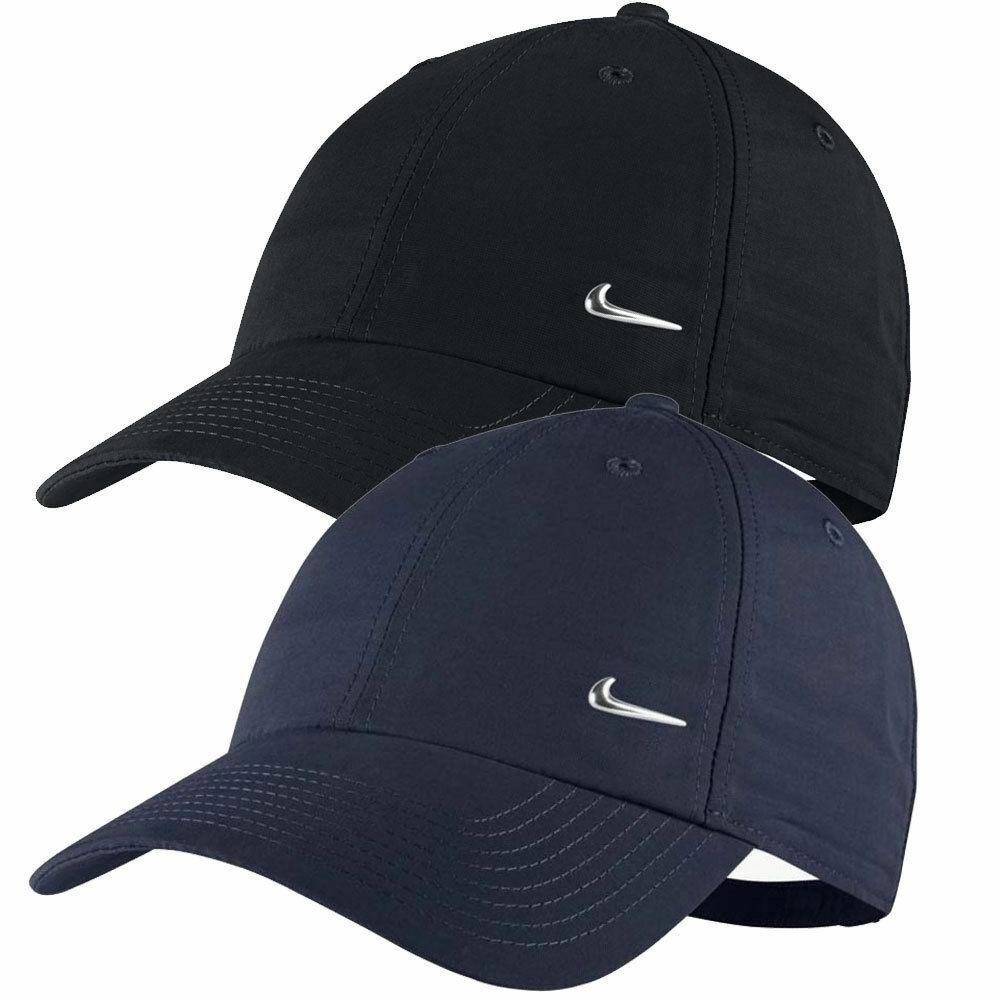 ▷ Nike Metal Swoosh Cap Kappe Basecap Mütze Cappy Damen Herren Kinder HERITAGE86