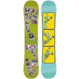 A Men's Salomon Snowboard For Sale.