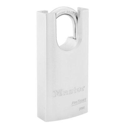 New Master Padlock Proseries Shrouded Solid Steel Lock Body 7046 Nrwo 7035 7045
