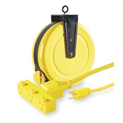 LUMAPRO 120VAC 30-FOOT General Purpose Retractable Cord Reel # 4XP67A
