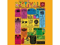 2 bestival tickets for sale