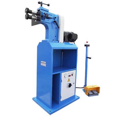 8 Throat Bead Bender Machine 18 Gauge Bending Roll 220v 1hp 1730rpm W4 Rollers