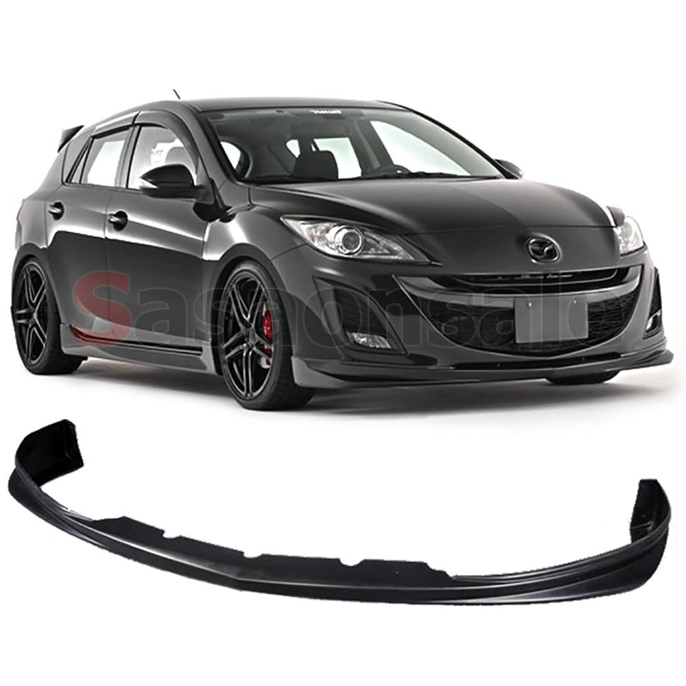 Advance Auto Parts Number >> Fit for 2009-2011 MAZDA 3 4/5dr DS Style JDM Front Bumper Spoiler Lip - URETHANE