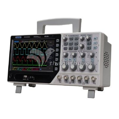 Hantek Dso4254c Digital Storage Oscilloscope 64k 4ch 250mhz Signal Source 1gss