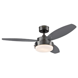 Westinghouse 7876400 alloy 42 inch gun metal indoor ceiling fan westinghouse 7876400 alloy 42 inch gun metal indoor ceiling fan light kit with aloadofball Images