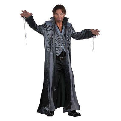 Wizard (modern Day) - Costume Fancy Dress Modern Mens Halloween Day Long Coat