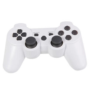 New Wireless Bluetooth Controller for Sony PS3 White
