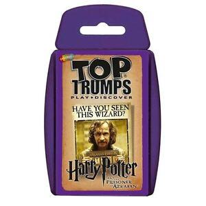 Top Trumps - Harry Potter & the Prisoner of Azkaban Card Game