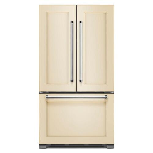 KitchenAid 21.9 Cu. Ft. Counter-Depth French Door Refrigerator Custom Panel Ready KRFC302EPA
