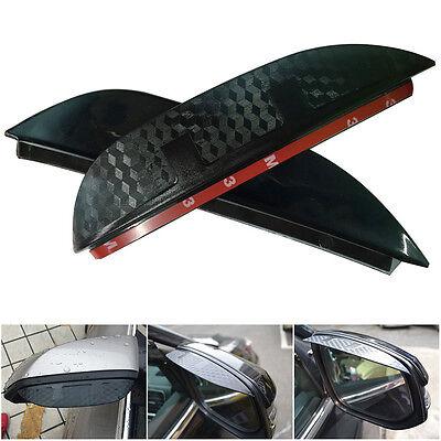 2x Rear View Mirror Anti-Rain Cover For VW VolksVagen Tiguan 2009-2014 3D Design