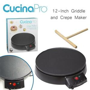 NEW CucinaPro 1448 12-Inch Griddle and Crepe Maker Condtion: New