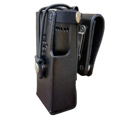 Case Guys Hy3020-3bw Hard Leather Holster For Hytera Pd602 Radios