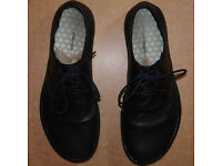 VIVOBAREFOOT Mens Ra Leather Shoes size UK 11 EU46 Black