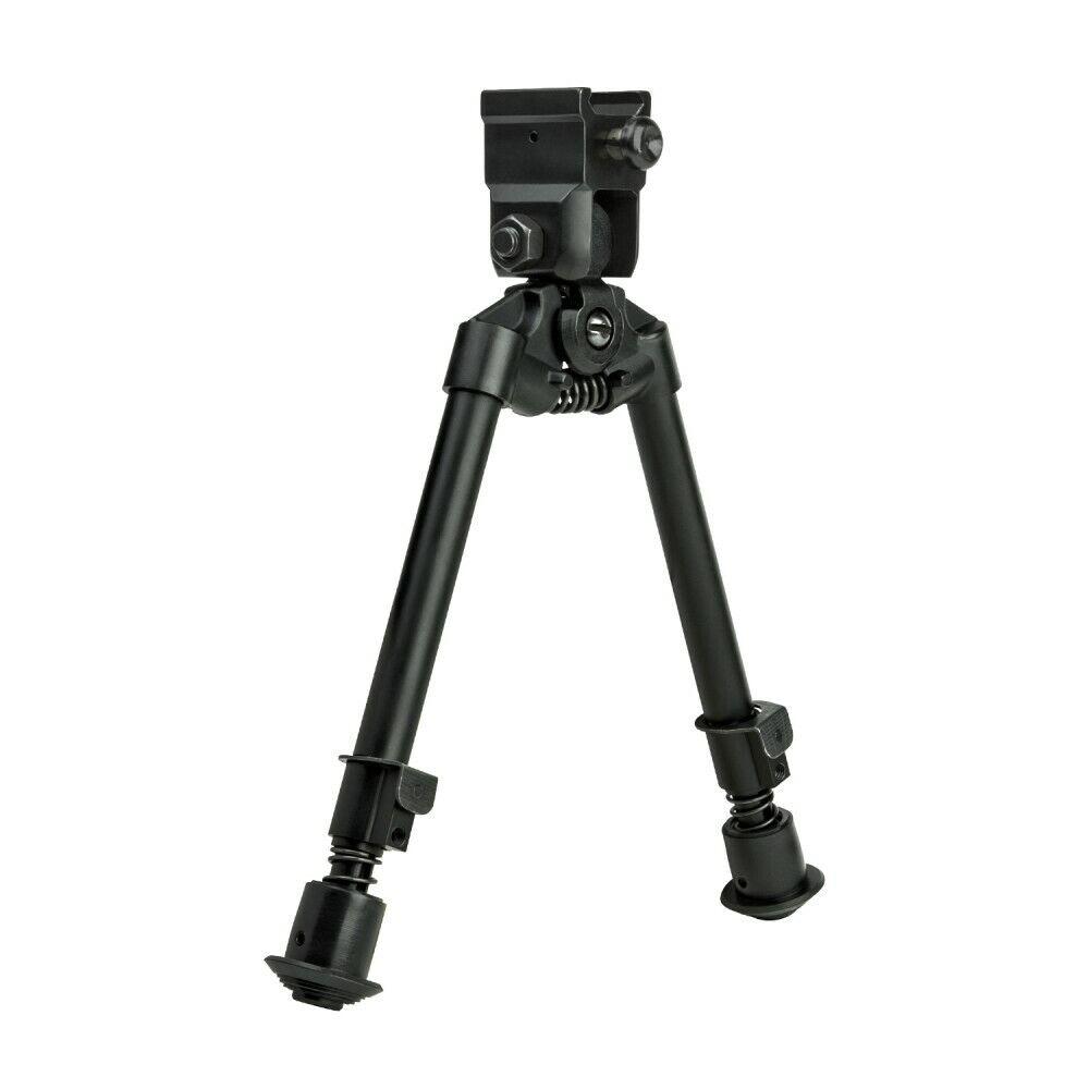 Bipod - Weaver QR Mount/Universal Barrel Adpater/Notched Leg