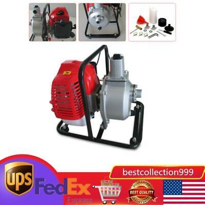 Us Gas Powered Water Pump Flood Irrigation Portable 2hp Water Transfer Pump 43cc