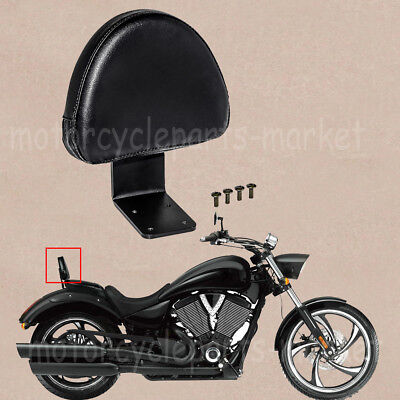 - For Victory High-Ball Vegas Kingpin Deluxe Rear Backrest Seat Sissy Bar Pad New