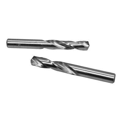 High Speed Steel Twist Straight Shank 6 PC 9.3mm HSS Screw Machine Drill Bits