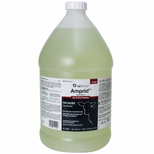 Amprid 9.6% Amprolium Coccidiosis Prevention Cattle Poultry Gallon